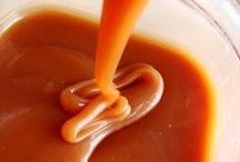 calda de caramelo