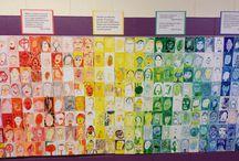 Schoolwide Art + Collabs