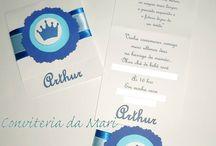Convites e personalizados diversos / Convites, lembrancinhas, tags, tubetes, latinhas, personalizados.