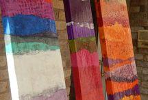 abstract acrilici