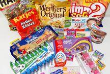 Sample candies