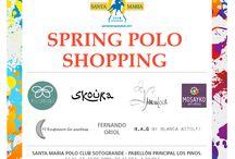 Spring Polo Shopping / Oferta comercial con una variedad de prestigiosas marcas durante la Temporada de Primavera 2014