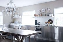 Kitchens with Chandeliers / by Talia Adomo