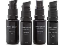 KARI GRAN / Kari Gran is an eco-luxe skin care brand providing a simple, elegant, all natural skin care solution that works flawlessly for any age and skin type. These products are hand poured with the highest quality natural, organic, wild harvested and non-GMO ingredients, our simple, easy-to-use, all natural skin care system results in an everyday ritual. Always paraben and toxin free—the little black dress of eco-skin care.