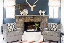Rustic chic / living room