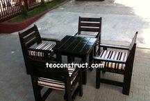 Modele mobilier de gradina / In acesta categorie descoperiti imagini cu diferite tipuri de mobilier de gradina de exterior.