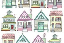 Houses to draw