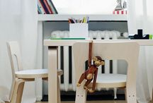 Little Ones / Great ideas and inspirations for creating stylish, trendy and contemporary bedrooms for children, both boys and girls.