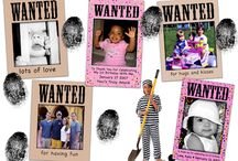 Wanted Photo Magnets / You're always wanted for something: taking out the garbage, cleaning your room,