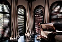 Shutters / Shutters' clean architectural lines always guarantee you a stylish & classy look. Promising you a view of grandeur.