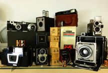 Old Cameras / Our store in Spartanburg SC has hundreds of old cameras over the years.  Come in and check them out!