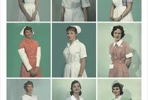 Vintage Uniforms / Nurses, Military,etc. / by Kate Dennis