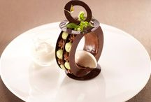 Desserts avec du chocolat