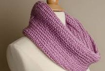 Scarves - knitted or sewn