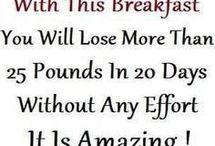 Recipe for breakfast shake