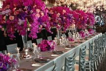 Events with a Pop of Color! / Beautiful events designed with eye-catching colors