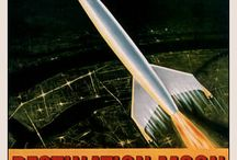 Science Fiction Posters / A brief curation of classic Sci-Fi posters.