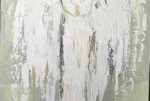 angeli acrilici