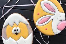 Sugarpaste Cookies: Easter