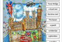 English for kids - London United Kingdom