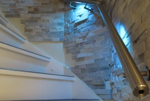 LED handrail / LED handrails improve appearance and safety at home, at work and in public spaces!