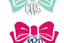 Monogram Everything / by Courtney Collins