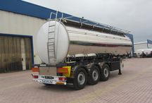 Food staff Tank Semi trailer
