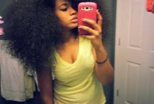 Natural hair/fros/weave/braids/ all hair / by Allyssa Gunning