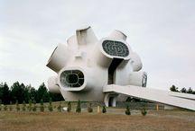 Futuristic Monuments
