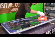 Acryl painting tisch