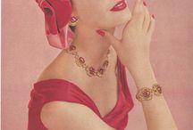 Coro vintage ads