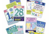 Milestone Cards / Milestone Baby en Pregnancy Cards