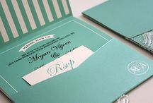 Invitations - Mint, turquoise & Olive green (Pistachio Designs) / Mint, Turquoise & Olive Green wedding invitations