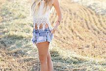 Cowgirl fashion / boots class & a little sass