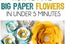 Paper Flowers & Garlands & Goeters