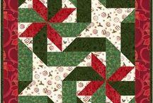 patchwork vánoce