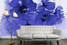 Wall Murals / Bold art commitment for beautiful space
