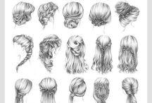 Hair ideas / Easy tutrials for hair!❤️