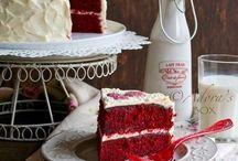 Десерты С Красным Оттенком