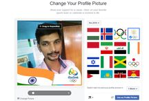 FB Profile Picture to Support Your Country on Rio Olympic 2016