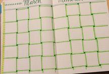 calendar / un super calendar simplu si usor de fucut la tine acasa un super calendar pentru agenda