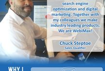 Why I Love WebiMax / The office tells us their favorite parts of working at WebiMax. / by WebiMax
