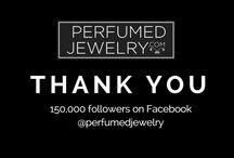 Thank you!!! / Celebrating!!! www.perfumed jewelry.com