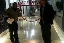 At Atlantic Records  / Ari & Melissa Atlantic Records