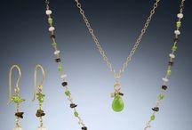 Peridot Jewelry by Jewel of Havana / August Birthstone Jewelry: Peridot Necklaces, Peridot Earrings, Peridot Jewelry Sets, for August Birthdays and Traditional 16th Anniversary Gifts