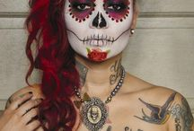 Day of The Dead Make up / by Gypsy LeeLee
