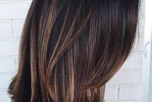 Brown hair colors