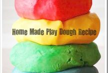 Kid Stuff-Party Ideas/ Fun Stuff / Handmade Play Dough