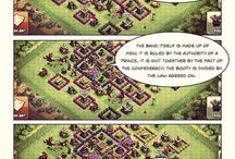 Hash of Clans / My webcomic based on the game Clash of Clans, as a metaphor for Western Civilization, and stuff.