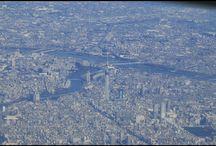 スカイツリーを探せ。 D'you find The Tokyo Sky Tree (It's the highest tower of Japan)? #skyview #findthetower #fromairplane #tokyo #tokyoskytree #landscape #スカイツリー #飛行機からの景色 #東京写真